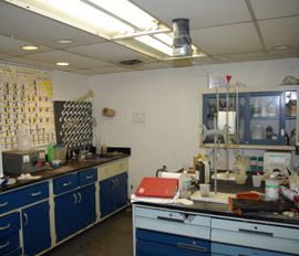 In House Process Control Laboratory